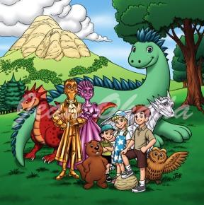 Ilustração para série do escritor Gian Danton
