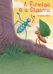 Capa para livro da escritora Virgínia Allan