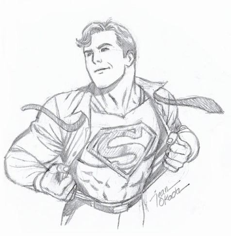 sketch_superman
